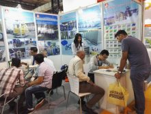 Exhibiton in Mumbai, India