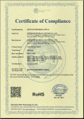 RoHS certifiction