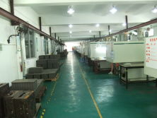 15 pcs injection machine in factory for production