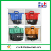 nonwoven foldable supermarket grocery trolley shopping bag