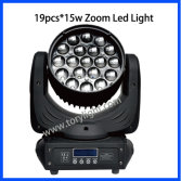 Hot selling LED Zoom 19*12w Moving Head Light