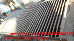 hot dip galvanized customized direct welding flat bar grating