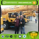 Thailand Client Visit XCMG Factory for Truck Crane