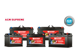 Supreme AGM Start-Stop Car Battery Series