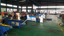 Workshop view for pipe tube bending machine bender