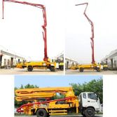 concrete pump truck workshop