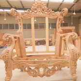 100% Wood Sofa Frame