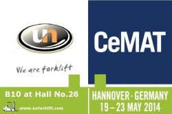 We are here in CeMAT 2014 (Hall No.26, B10)