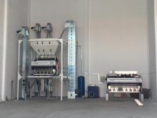 Skysorter Color Sorter Machine Showroom in Europe