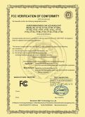FCC Certificate of Car LED Headlight