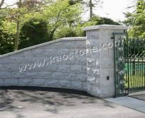G603 Stone Pilaster and Wall Capping