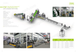 Waste fiber pelletizing line