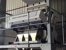 3 Chute Color Sorter for Plastic Flakes