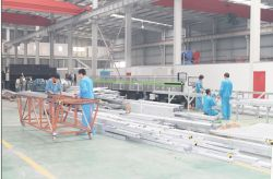 Production of light steel villa