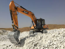 SANY excavators promote Iran′s construction and mining projects