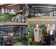 TOMA extruded aluminium profiles production line