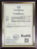 RoHs certificate for LED Tube