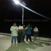 solar street light in yushu China