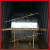 Color Coated Steel Coil Loading