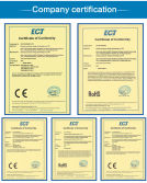 Solar Power System Products Certificates