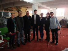 Spain Clients Visiting Factory