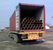 ERW steel pipe export to Qatar