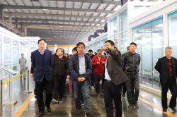 Cheng Gangqiang, Chairman of the Jincheng Federation of Industry and Commerce Visited LandGlass