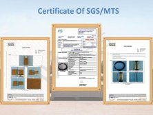 Certificate of SGS/MTS