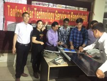 tanfon service team at Bangladesh