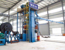 Shot Blasting Machinery for Anchor Chain / Mooring Chain Manufacturing