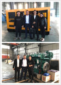 Kyrghyzstan Customers Visit MBKL Genset Factory