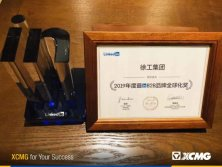 XCMG has won LinkedIn′s Annual Most in B2B Global Brand Award