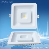 Double color aluminum COB and SMD square led downlight