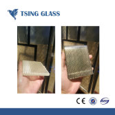 Tsing Glass: Laminated Glass with Metal Mesh