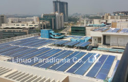 CPC solar collector project in India