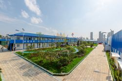 Office Container Block in Wuhan
