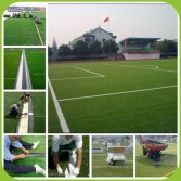 Football artificial grass installation introduction