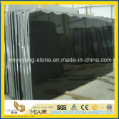 High Polished Shanxi Black Granite Slab for Countertop or Tombstone