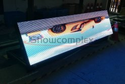 front maintenance outdoor led panel