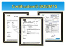 CertificationS-SGS/MTS