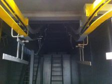 customer case view for conveyor system and painting system