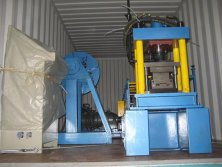 Shutter Door Machine to Indonesia