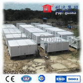 China 20ft flat pack container house for camp