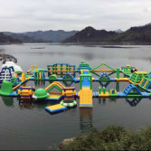 large inflatable water park /inflatable water toys for Vietnam