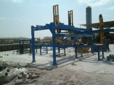 Automatic block stacker in Saudi Arabia