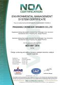 ISO 14001:2015 Environmental managerment Certificate