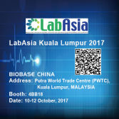 Welcome to visit BIOBASE at LabAsia 2017