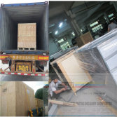 plywood Package for Slovenia screen printing machine