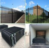 Wrought Iron Fence/Steel Fence/Metal Fence