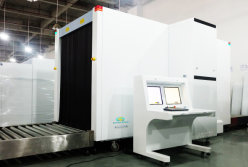 AT150180 X Ray Cargo Scanner in Yangon International Airport